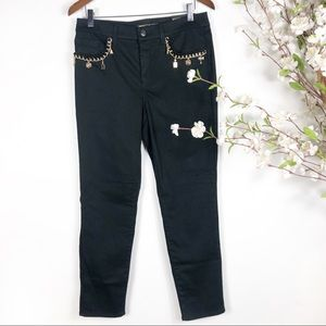 Chico's So Slimming Charm Girlfriend Ankle Jeans